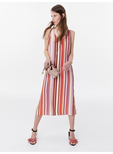 Twist Elbise Kırmızı